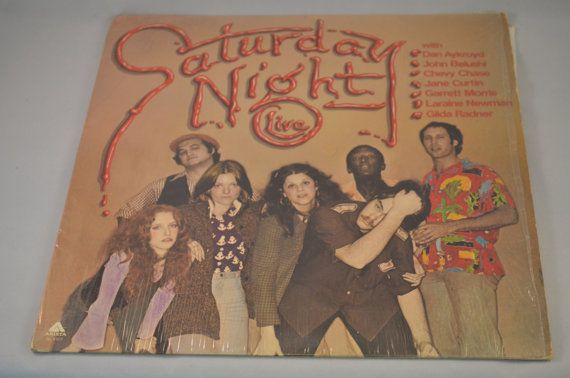 Vintage Record NBC's Saturday Night Live SNL by FloridaFinders, $5.00