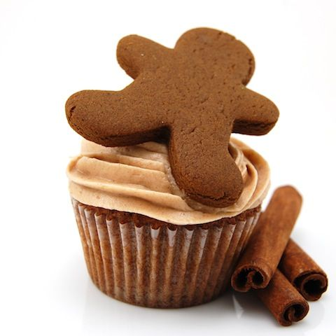 Sweet Pea's Kitchen » Gingerbread Cupcakes with Cinnamon Cream Cheese Frosting