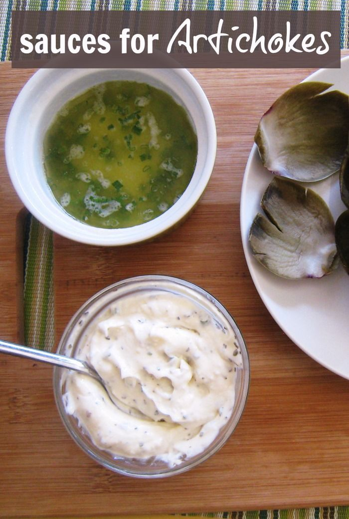 Sauces for Artichokes | Good Cheap Eats - Artichoke season has arrived! Having some choice of sauces for artichokes, like this lemon butter makes the experience so fun and delicious!