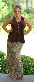 Carefree And Caffeinated Bow Back Tank - Brown