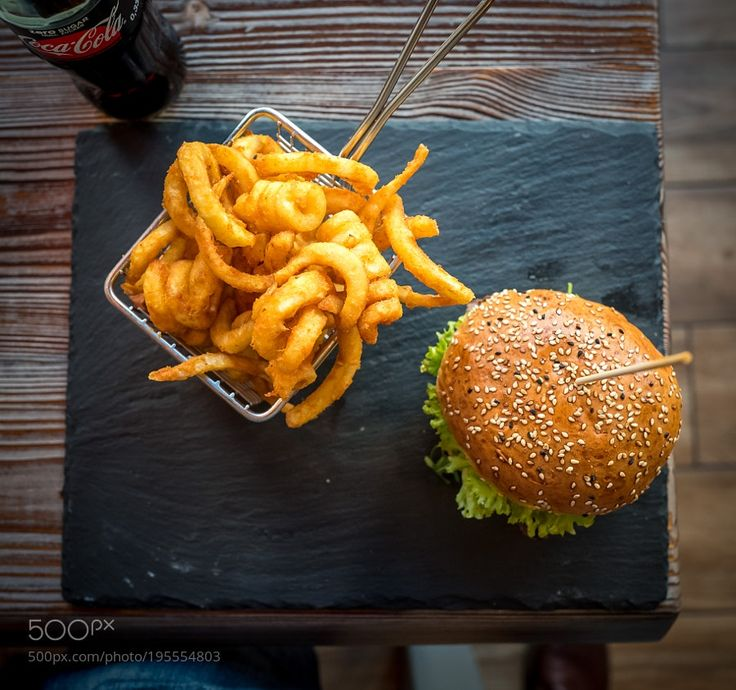 Beef Burger in Charlottenburg Berlin by galyonkin