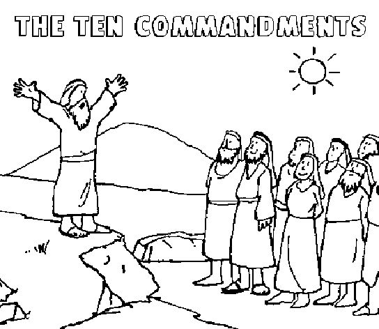 85 best images about sunday school on pinterest maze for 10 commandment coloring pages