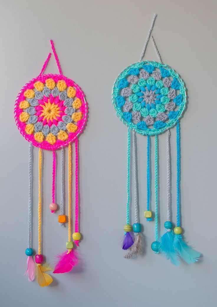 Crochet How To Make Dream Catchers Art Amp Craft Projects