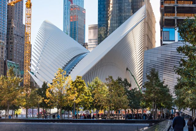 Santiago Calatrava, World Trade Center Oculus, Нью-Йорк