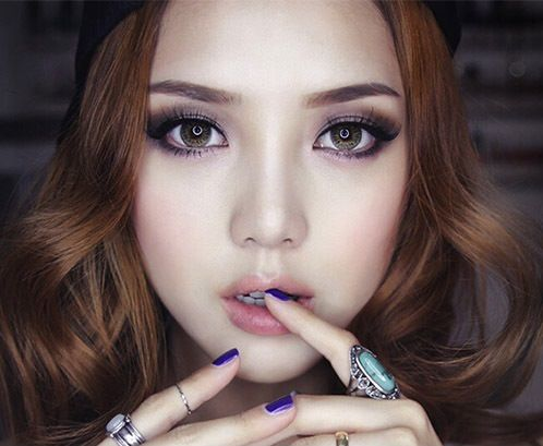 Asian Smokey Eyes
