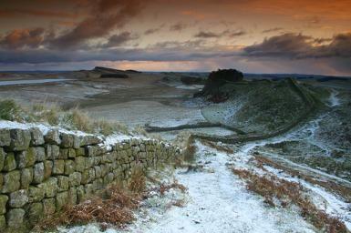 Vallo di Adriano in inverno - Stuart Marlow