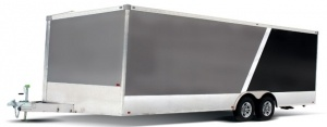 Rance Aluminum Renegade V Nose Enclosed Car Hauler Trailer