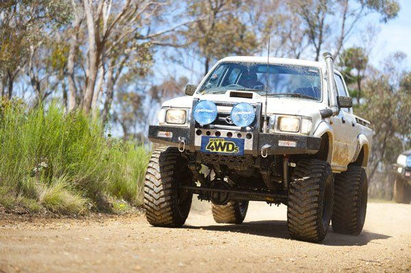 Crew Hilux 4x4 Yes That S A Solid Front Axle Much Love