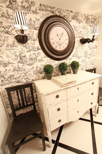 Home-Styling: Dining Rooms, Search, Decoration, Toile Tasting, Toile De, Twas Toile