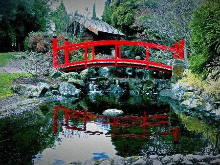 Japanese Garden - Royal Tasmanian Botanical Gardens, #Hobart. Article and photo for Think #Tasmania.