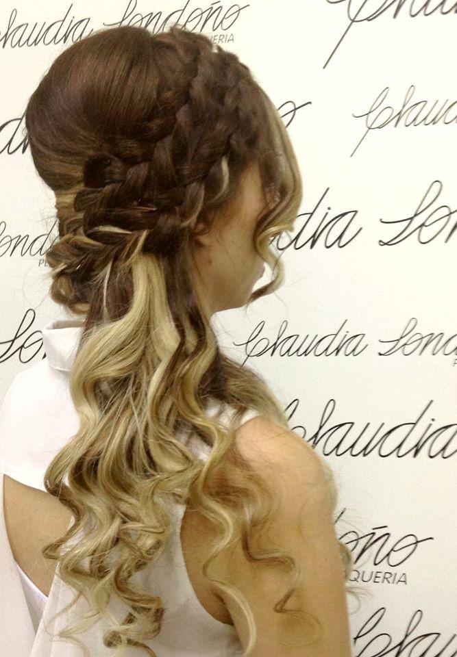 peinados con trenzas forman parte de un estilo sexy, juvenil ,y romántico. Hair. sara londoño