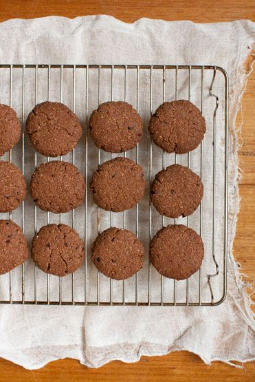 Chocolate Coconut Rough Cookies loving earth