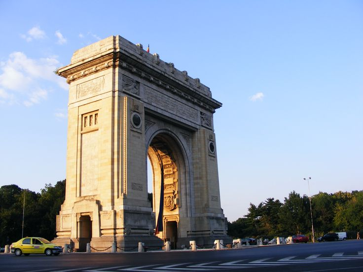 Bucharest, Triumph Arch http://www.touringromania.com/regions/bucharest.html
