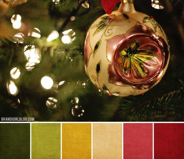 Brandi Girl: Color Palette #92 :: Christmas Medley