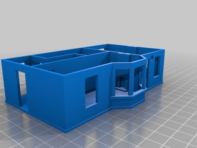 Dacre Station Ground Floor by georgeswilson - Thingiverse