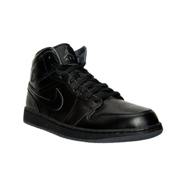 on sale 6109c 7e073 ... Nike Men s Air Jordan Retro 1 Mid Retro Basketball Shoes ( 110) ❤ liked  on . ...