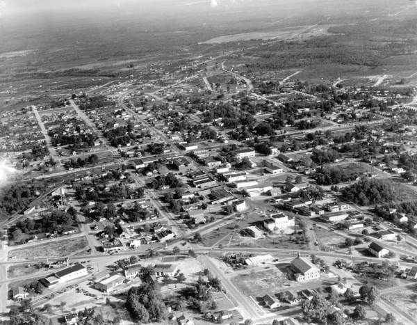 Florida Memory - Aerial view - Crestview, Florida