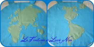 Tutorial disfraz planeta tierra. DIY costume earth (world)