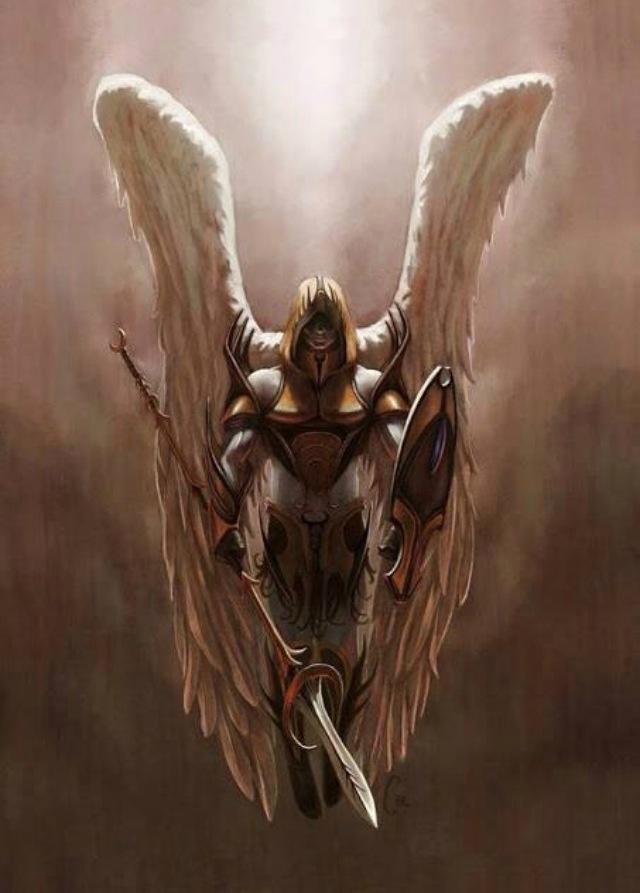 картинки с ангелами воинами что