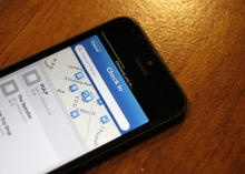 Foursquare speeds up check-in process in iPhone app via @CNET
