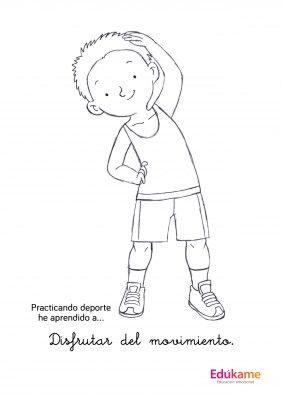 fichas para colorear  deporte y emociones Edukame_Page_05
