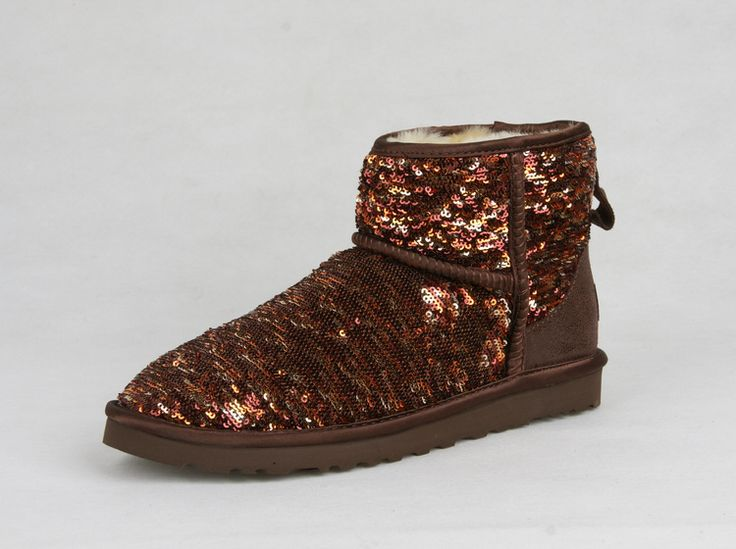 #UGG #Boots,#cheap #ugg, #fashion #ugg, #SHEEPSKIN #UGG #BOOTS, Womens Uggs Sparkles Classic Short Boots