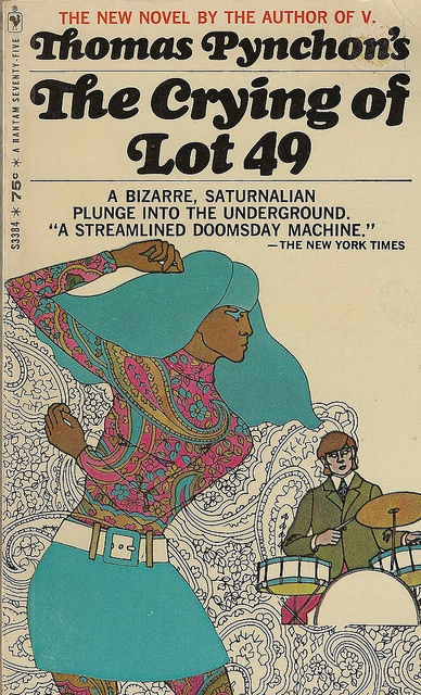 "# 413: Thomas Pynchon - ""The Crying of Lot 49"" - David Foster Wallace was greatly inspired by Pynchon's seminal work when writing his own 'Broom of the System'."
