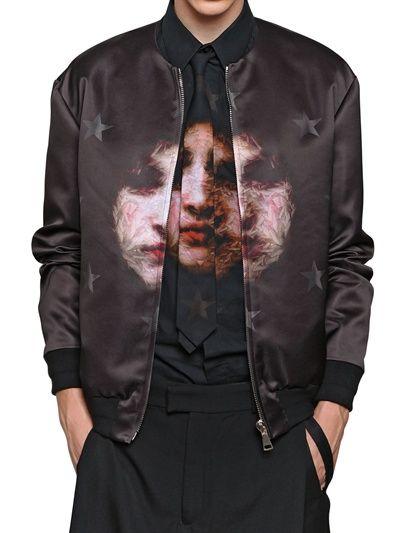 Givenchy - S/S 2013 Madonna bomber