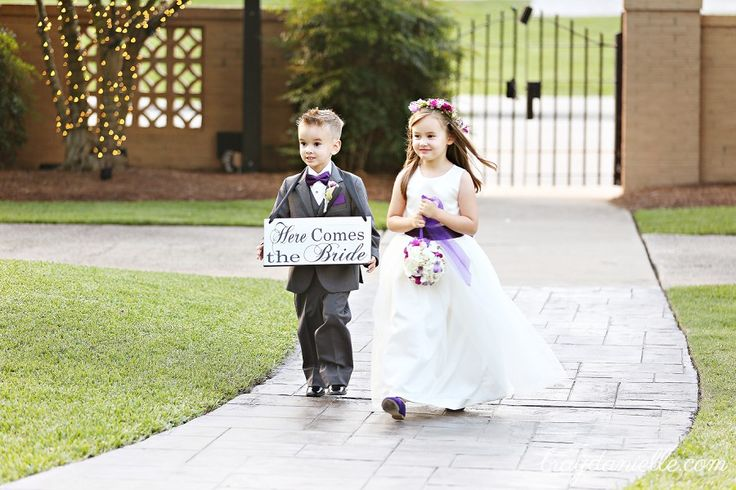 Ring Bearer and Flower Girl - Southern Oaks Plantation in New Orleans, LA - Bray Danielle Photography • Wedding Photographer
