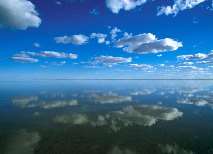 Images of Australia: Lake Eyre in flood, South Australia - Australian Geographic