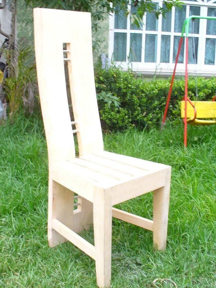 Resultado de imagen para sillas de madera rusticas