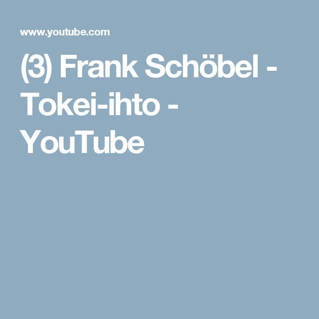 (3) Frank Schöbel - Tokei-ihto - YouTube