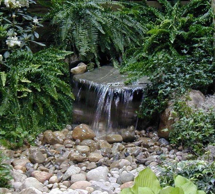 Waterfall Pond Kit Ebay Gardens Pinterest
