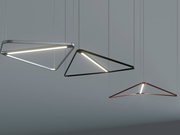 Kite naked by Estel Group, led aluminium pendant lamp design Jorge Pensi, Kite collection