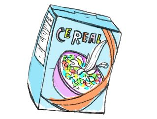 FREE Middle School health lesson. Cereal box redesign.