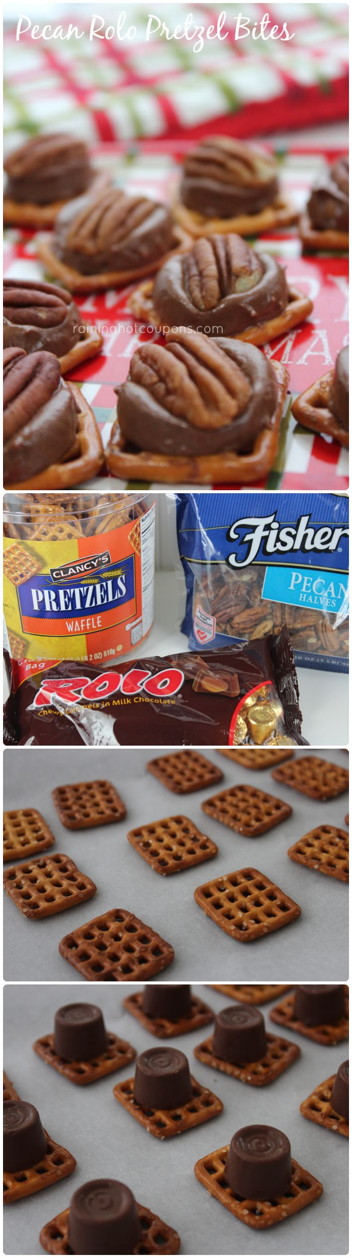 Cookie recipes rolos pretzels pecans