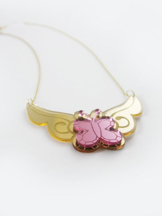 Fluttershy Element of Kindness Necklace by edenki on Etsy, $20.00