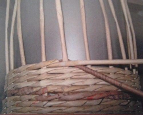 Řetízková vazba - šipky :: Pletení z papíru Hanča Čápule