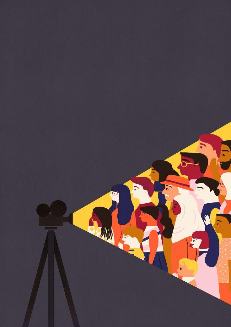 Cameraperson - Naomi Wilkinson Illustration