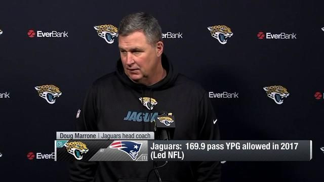Jacksonville Jaguars head coach Doug Marrone on Tom Coughlin: 'I've leaned on him quite a bit' since day one