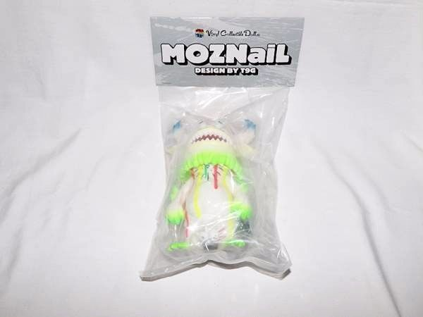 New 99 Limited Edition of T9G vcd MOZNaiL 1st white figure rangeas F/S #Byron