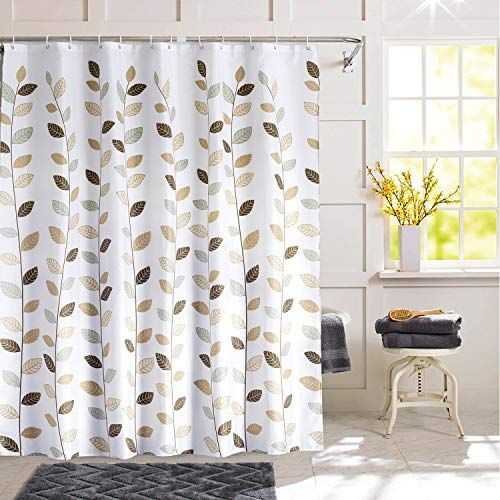 Shu Ufanro Shower Curtain Polyester Fabric Waterproof Shower