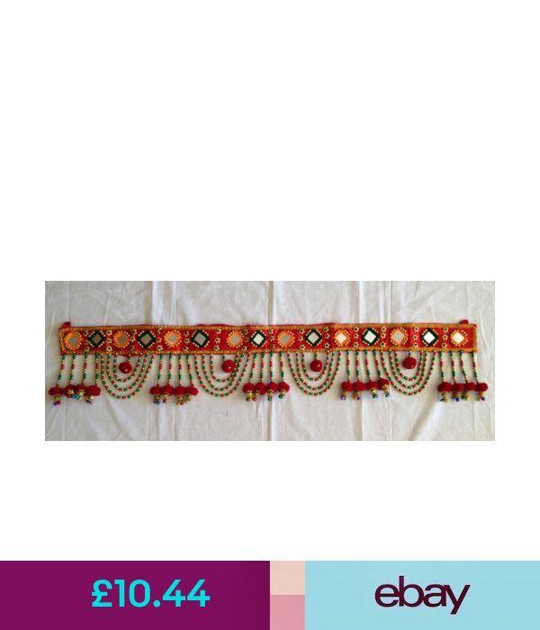 Wandbehänge Indisches Kunsthandwerk Ethno Traditionell, Toran / Door Valancechris