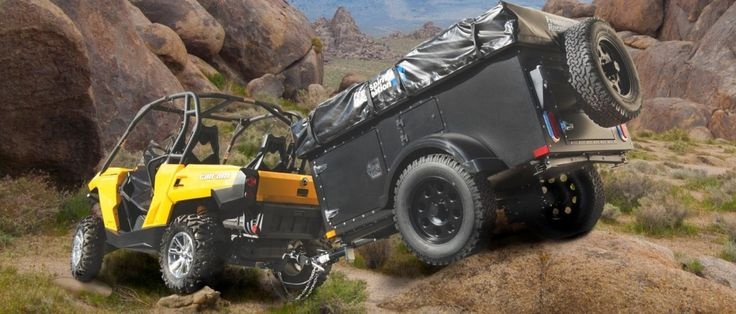 Off road tent trailer.