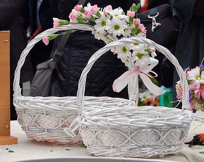 корзина для пасхальных яиц