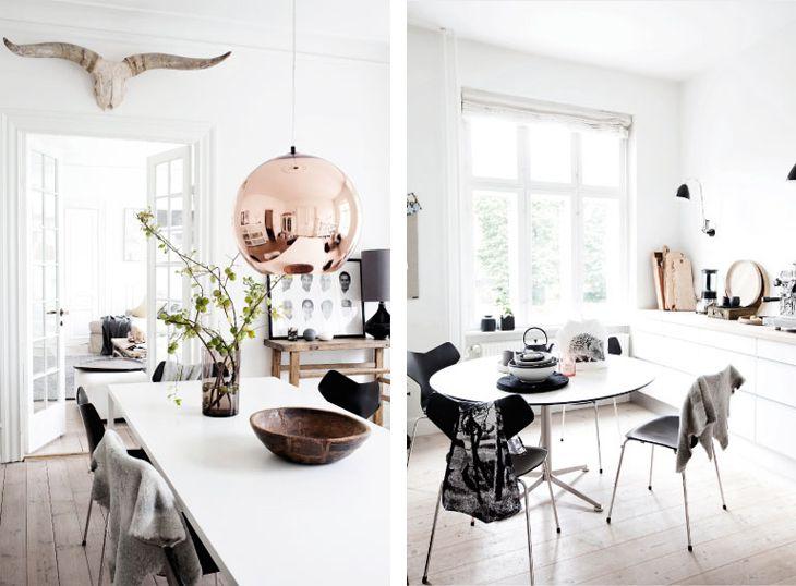 white apartment barcelona - Stunning White Apartment in Denmark ...