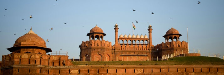 A great pic of the Dehli Red Fort