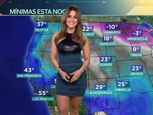 7 Hot Anchors That Make The News Worth Watching Hottest Weather Girls Female News Anchors Jackie Guerrido