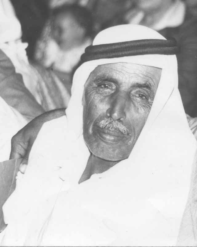Suliman Abu Sharb, Esteemed Bedouin from the Negev in Israel, my father in-law.