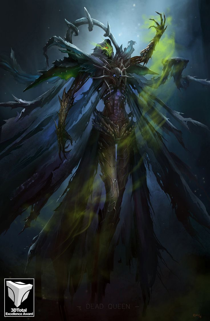 ArtStation - DEAD QUEEN, Ricardo Echeverry | Creature ...